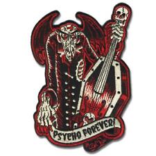 """Authentic RETRO-A-GO-GO! Psycho Forever Embroidered Patch 5.25"""" x 3.75"""" NEW"""
