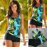 Womens Push Up Padded Tankini Bikini Swimsuit Bathing Suit Swimwear Beachwear
