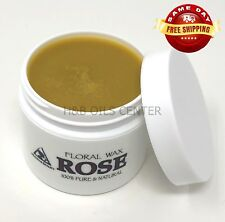 BULGARIAN ROSE ORGANIC FLORAL WAX by H&B Oils Center NATURAL 100 % PURE 2 OZ