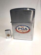 Golf 1966 PGA Championship Store Display Oversize Lighter & Zippo Firestone CC