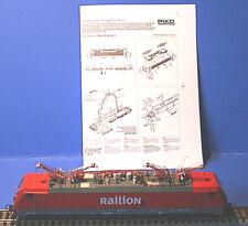 Piko 57185  DIGITAL  E-lok 189 023-5 DB Railion in Ersatz VP