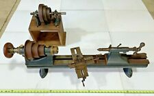 Antique Stark Bench Lathe - Optical Equipment Mfr / Machine / Metalworking
