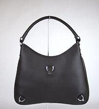 New Gucci Dark Brown Leather Abbey Hobo BAG Handbag w/D Ring 268636 2038
