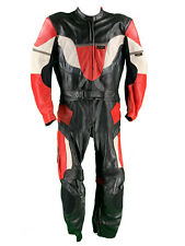 Revenger Lederkombi Gr. 54 Zweiteiler Motorradkombi Leather Suit Schwarz Weiß