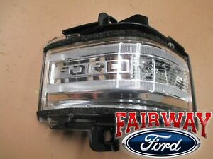 15 thru 20 F-150 OEM Ford TOW Mirror Signal Lamp Lens w/ Spot - RH PASSENGER