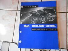 Teile Katalog parts list catalog BUELL Thunderbolt S3T Modelljahr 2002
