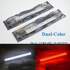 2x White/Red 30-SMD LED Lamps For License Plate,Backup,Brake Light Car Truck SUV
