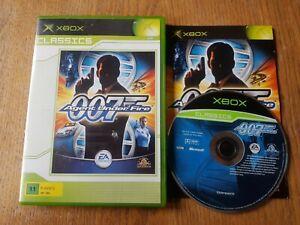 james bond 007 agent under fire xbox original
