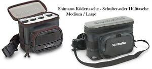 Shimano Ködertasche für Wobbler Spinner Sholder Bag Hüfttasche Raubfischtasche