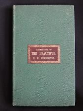 REVELATIONS OF THE BEAUTIFUL AND OTHER POEMS BY E.H.BURRINGTON-1848-1st ED