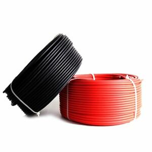 PV Cable For Solar Panel Tinned Copper Wire Weather Resistance Parts Accessories