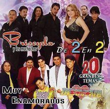 Bryseyda y los muchachos,Industria del Amor 2 en 2 Muy Enamorados CD New Nuevo