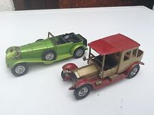 2 MATCHBOX MODELS OF YESTERYEAR Diecast Cars