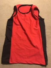 Boys Track Running Compression Singlet Tank Top Medium M