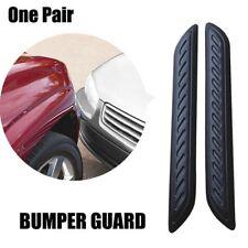 Car Rubber Bumper Corner Protector Door Guard Cover Lip Crash Bar Trim Kits