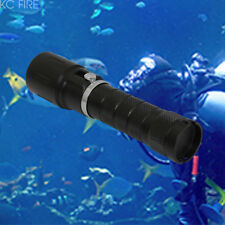 KC Fire LED CREE XM-L2 Aluminum Diving Flashlight Scuba Waterproof Torch Light