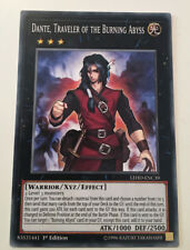 NEW - DANTE, TRAVELER OF THE BURNING ABYSS - LEHD-ENC39 1ST EDITION YuGiOh