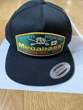 Megabass Throwback Snapback Fishing Hat - Japan