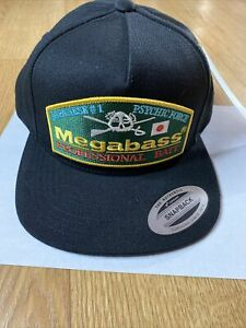 MEGABASS THROWBACK SNAPBACK FISHING HAT - JAPAN