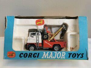 "Corgi Major Toys Boxed ""Holmes Wrecker"" Recovery Vehicle 1142"