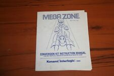 Mega Zone Arcade Manual (SEE PHOTOS)