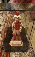 johnny bench  5 poised for fame gartlan autographed figurine