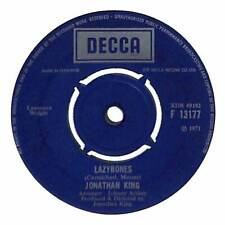 "Jonathan King - Lazybones  - 7"" Record Single"