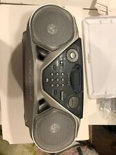 Vintage working tested Philips Az1061 Cd/Radio/Cassette Boombox great shape
