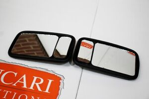 Pair of XL blind spot mirror heads Fits Land Rover Defender 90 110