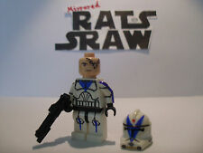Lego Star Wars Minifigures -- Clone Custom Trooper dogme - 501st