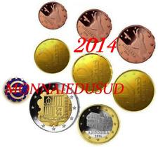 Série 1 Cent à 2 Euro Andorre 2014 - Série UNC