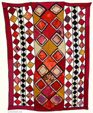 ANTIQUE ORIENT Uzbek Suzani Patchwork wedding CAMEL flank cammello gioielli a