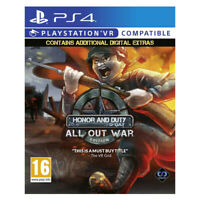 Honor and Duty D-Day All Out War Edition PlayStation PS4 PSVR EU English Sealed