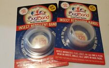 Deet Free Bug Band Insect Repellent Wristband 2 Pack Glow In The Dark 120 Hours