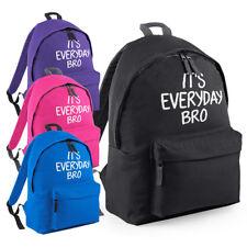 It's Everyday Bro Backpack - Every Day Jake Paul Bag Youtube Team Ten Rucksack