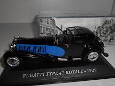 BUGATTI TYPE 41 ROYALE 1929 AUTREFOIS ALTAYA IXO 1/43