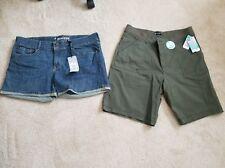 Women's 2 pair shorts size 18 NWT