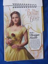 Emma Watson Hermione Belle of BEAUTY and the BEAST Design SKETCHBOOK w/Stickers