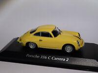 Porsche 356 C / 356C Carrera 2 de 1963 au 1/43 de Minichamps / Maxichamps