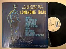 DISCO LP - A COUNTRY BOY LOOKS DOWN THAT LONESOME ROAD - EARL CUPIT - 1973 EX+