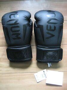 Venum Giant Hook 3.0 Handmade Boxing Gloves **Nappa Leather** Black/Black 14 oz