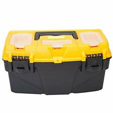 Big Red Atrjh 3015b Torin 155 Plastic Storage Tool Box With Removable Tray