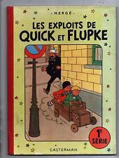 Hergé. Les Exploits de Quick et Flupke 1 série. Casterman 1954. B10