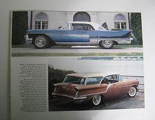 1957 CADILLAC ELDORADO BROUGHAM 1957 SUPER 88 MAGAZINE ADVERTISEMENT PRINT AD
