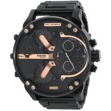 Orologio uomo DIESEL DZ7312 Mr.Daddy acciaio nero/dettagli rosè con box&garanzia