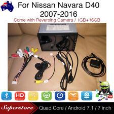 "7"" Android Head Unit Quad Core Non-DVD GPS Car Media Player For Nissan Navara"
