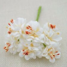 6PC Fake Flower Silk Stamen Artificial Bouquet Wedding Decor DIY Wreath Craft