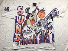 Vintage Phoenix Suns Taz Tazmanian Devil NBA Basketball T Shirt Looney Tunes