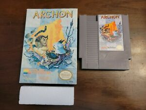 Archon (Nintendo Entertainment System, 1989) Game & Box - Tested - Authentic