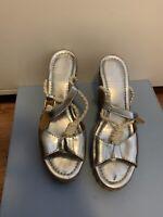 Tory Burch Wedge Sandals 7
